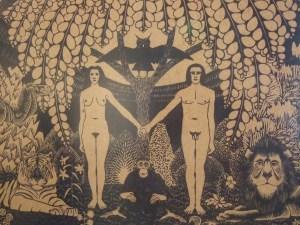 Escher's Garden of Eden