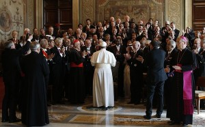 VATICAN-POPE-AUDIENCE-DIPLOMACY