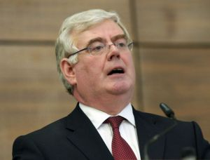 Eamon Gilmore, head of Ireland's Labour Party and deputy Prime Minister.