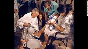 Pope Francis has regularly washed the feet of women at Easter