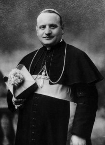 Angelo Roncalli on the day of his ordination as bishop in March 1925.