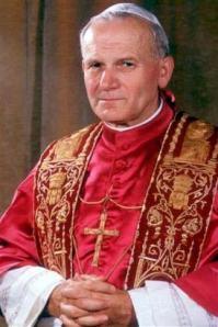 Pope St John Paul II.