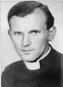 The young father Karol Wojtyla.