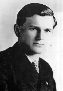 Karol Wojtyla, the young Pope John Paul II.