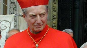 The late Cardinal Maria Martini, Archbishop of Milan.