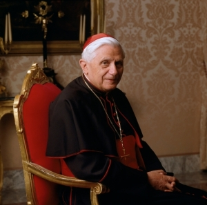 The then Cardinal Joseph Ratzinger, to whom John Paul in 2001 gave the task of tacking abuse in the Church.