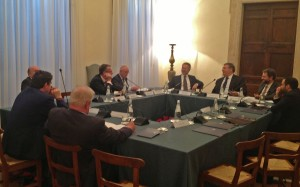 All Parliamentary Group to the Holy See at a meeting with the Community of Santi'Egidio