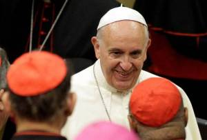 Francis at synod 2