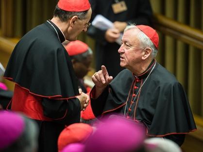 Cardinal Nichols at the synod