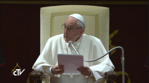 Francis address Curia