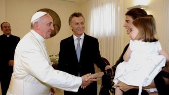 President Macri and family