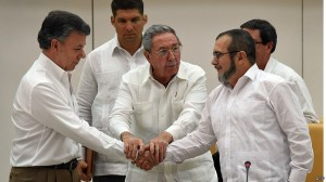 Peace talks in Havana that led to the historic accord