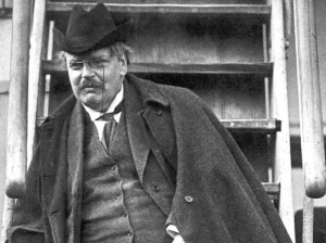 G.K. Chesterton: the 'secret people ... have not spoken yet'