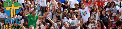 pilgrims at WYD Rio in 2013