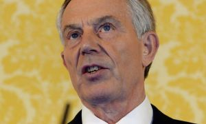 Tony Blair yesterday