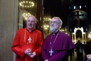 The two then archbishops of Westminster & Canterbury