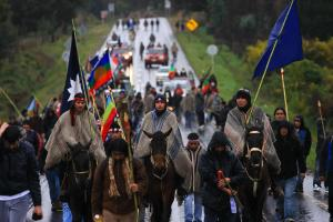 Mapuche protests began in the 1990s but their grievances go back centuries