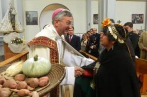 Bishops Vargas: key mediator